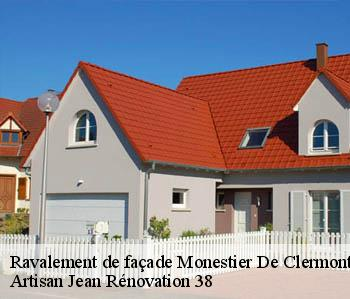Ravalement de façade  monestier-de-clermont-38650 JL Rénovation
