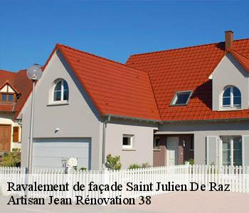 Ravalement de façade  saint-julien-de-raz-38134 JL Rénovation